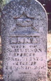 BURSON, ANNA - Fremont County, Iowa | ANNA BURSON