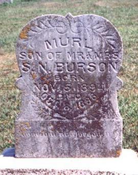 BURSON, MURL - Fremont County, Iowa | MURL BURSON