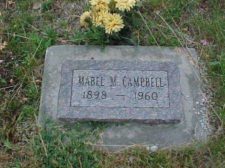 CAMPBELL, MABEL - Fremont County, Iowa | MABEL CAMPBELL