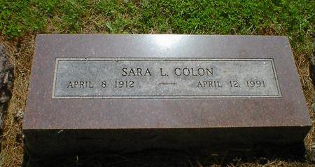 COLON, SARA L. - Fremont County, Iowa | SARA L. COLON