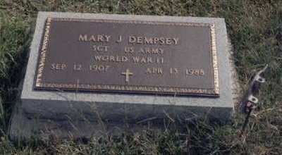 DEMPSEY, MARY - Fremont County, Iowa | MARY DEMPSEY