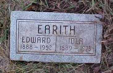 EARITH, EDWARD AND IOLA - Fremont County, Iowa | EDWARD AND IOLA EARITH