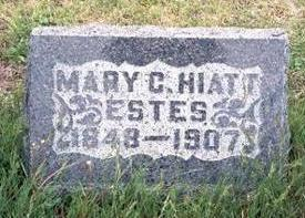 ESTES, MARY CAROLINE - Fremont County, Iowa | MARY CAROLINE ESTES
