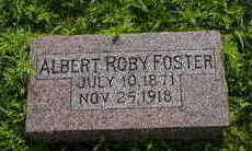 FOSTER, ALBERT (ROBY) - Fremont County, Iowa | ALBERT (ROBY) FOSTER