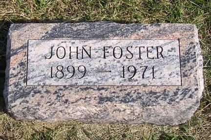 FOSTER, JOHN - Fremont County, Iowa | JOHN FOSTER
