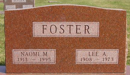 FOSTER, LEE A - Fremont County, Iowa | LEE A FOSTER