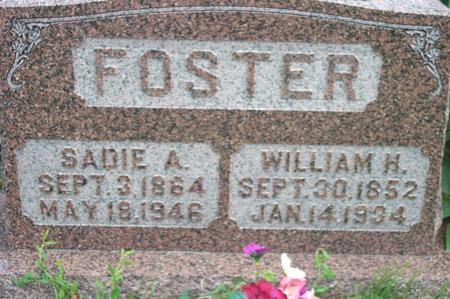 FOSTER, WILLIAM HENRY - Fremont County, Iowa | WILLIAM HENRY FOSTER