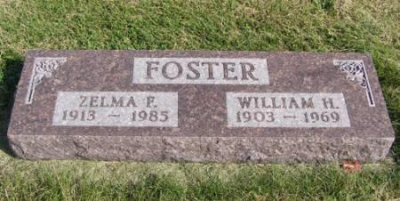 FOSTER, ZELMA F - Fremont County, Iowa | ZELMA F FOSTER