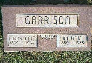 GARRISON, MARY ETTA - Fremont County, Iowa | MARY ETTA GARRISON