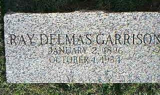 GARRISON, RAY DELMAS - Fremont County, Iowa | RAY DELMAS GARRISON