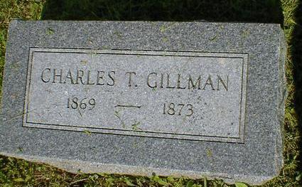 GILLMAN, CHARLES T. - Fremont County, Iowa | CHARLES T. GILLMAN