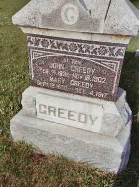 GREEDY, MARY - Fremont County, Iowa | MARY GREEDY