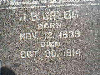 GREGG, J.B. - Fremont County, Iowa | J.B. GREGG