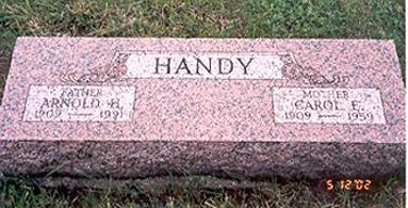HANDY, CAROL E. - Fremont County, Iowa | CAROL E. HANDY