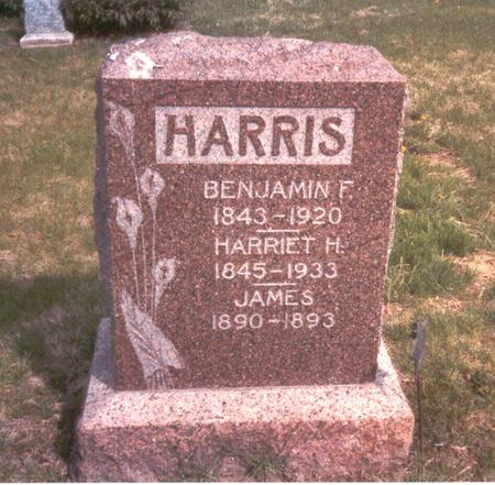 HART HARRIS, HARRIET H. - Fremont County, Iowa | HARRIET H. HART HARRIS