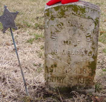 HARROW, JOHN - Fremont County, Iowa | JOHN HARROW