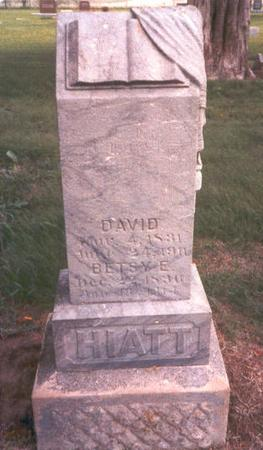 HIATT, DAVID J. - Fremont County, Iowa | DAVID J. HIATT