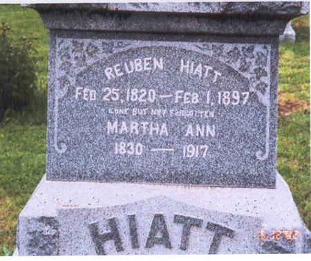 KAUBLE HIATT, MARTHA ANN - Fremont County, Iowa | MARTHA ANN KAUBLE HIATT