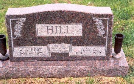 HILL, W. ALBERT - Fremont County, Iowa | W. ALBERT HILL
