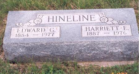 HINELINE, HARRIET E.