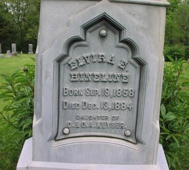 KEYSER HINELINE, ELVIRA E. - Fremont County, Iowa | ELVIRA E. KEYSER HINELINE