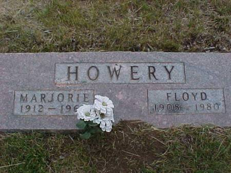 HOWERY, MARJORIE  AND FLOYD - Fremont County, Iowa | MARJORIE  AND FLOYD HOWERY