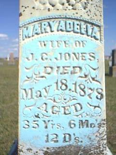JONES, MARY - Fremont County, Iowa | MARY JONES