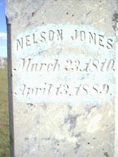 JONES, NELSON - Fremont County, Iowa | NELSON JONES