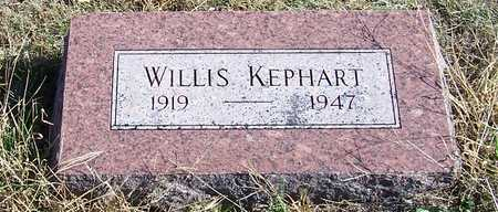 KEPHART, WILLIS - Fremont County, Iowa | WILLIS KEPHART