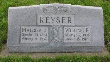 KEYSER, WILLIAM - Fremont County, Iowa | WILLIAM KEYSER