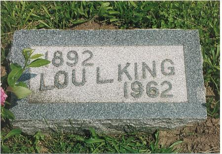 KING, LOU LETICIA - Fremont County, Iowa | LOU LETICIA KING