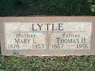 LYTLE, MARY - Fremont County, Iowa | MARY LYTLE