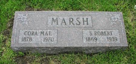 CHAPMAN MARSH, CORA MAE - Fremont County, Iowa | CORA MAE CHAPMAN MARSH
