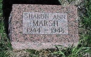 MARSH, SHARON ANN - Fremont County, Iowa | SHARON ANN MARSH