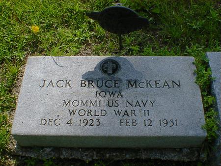 MCKEAN, JACK BRUCE - Fremont County, Iowa | JACK BRUCE MCKEAN