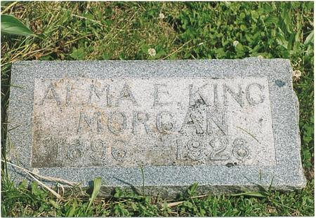 MORGAN, ALMA E - Fremont County, Iowa | ALMA E MORGAN