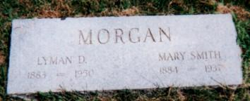 SMITH MORGAN, MARY - Fremont County, Iowa | MARY SMITH MORGAN