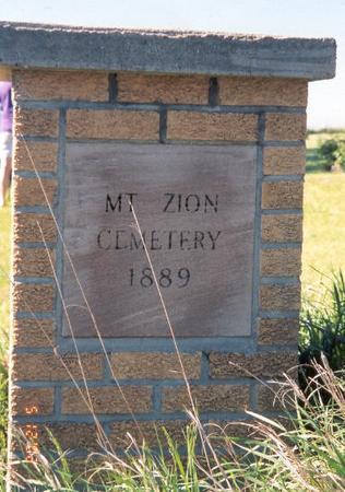 MT. ZION, CEMETERY - Fremont County, Iowa | CEMETERY MT. ZION
