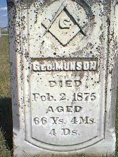 MUNSON, GEO - Fremont County, Iowa | GEO MUNSON