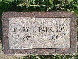 PARKISON, MARY - Fremont County, Iowa   MARY PARKISON