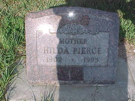 PIERCE, HILDA - Fremont County, Iowa | HILDA PIERCE