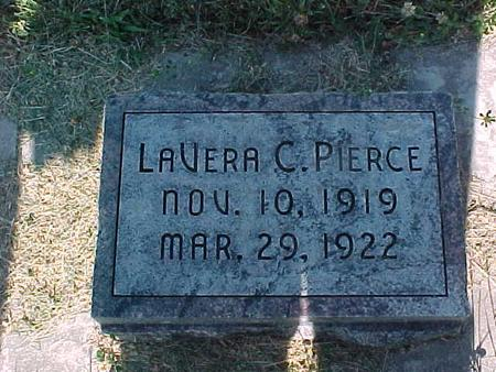 PIERCE, LAVERA C. - Fremont County, Iowa | LAVERA C. PIERCE