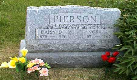 PIERSON, NORA ALBERT - Fremont County, Iowa | NORA ALBERT PIERSON