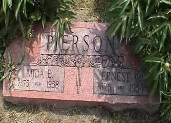 PIERSON, ERNEST W. - Fremont County, Iowa | ERNEST W. PIERSON