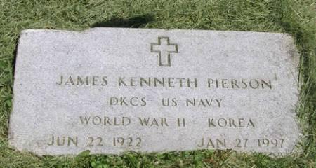 PIERSON, JAMES KENNETH - Fremont County, Iowa   JAMES KENNETH PIERSON