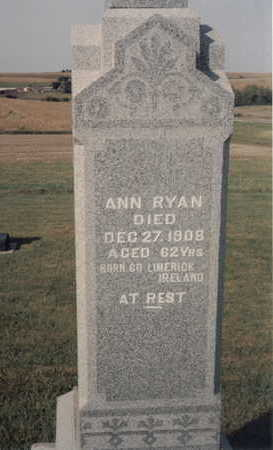 RYAN RYAN, ANN - Fremont County, Iowa | ANN RYAN RYAN