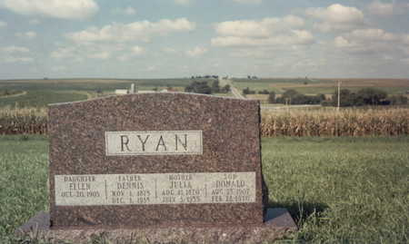 RYAN, ELLEN - Fremont County, Iowa | ELLEN RYAN