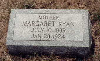 RYAN RYAN, MARGARET - Fremont County, Iowa | MARGARET RYAN RYAN