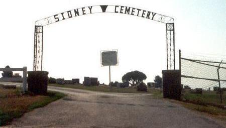 SIDNEY, CEMETERY - Fremont County, Iowa | CEMETERY SIDNEY