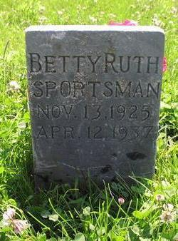 SPORTSMAN, BETTY RUTH - Fremont County, Iowa | BETTY RUTH SPORTSMAN